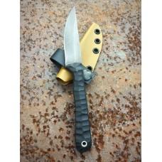 Kilo Black G-10 coyote sheath