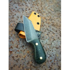 Waddle Forest Green Micarta