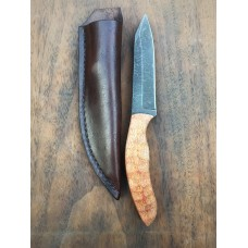 Rib Tickler Micarta w/ Leather